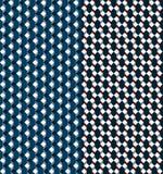 Geometryczny bezszwowy wzór Fotografia Royalty Free
