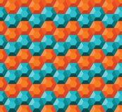 Geometryczny bezszwowy wzór Obraz Stock