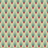 Geometryczny bezszwowy wzór Zdjęcia Royalty Free