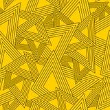 Geometryczny bezszwowy wzór Obrazy Royalty Free
