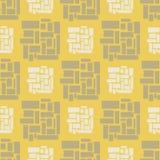 Geometryczny bezszwowy wzór Zdjęcia Stock