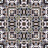 Geometryczny bezszwowy wzór, nowożytnego projekta tekstura royalty ilustracja