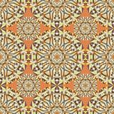Geometryczny bezszwowy wzór, nowożytnego projekta tekstura ilustracja wektor