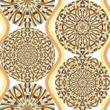 Geometryczny bezszwowy wzór, nowożytnego projekta tekstura ilustracji