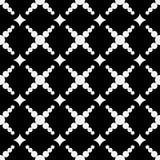 Geometryczny bezszwowy wzór z okręgami i diamentami Obrazy Stock