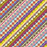geometryczny colorfull wzór Obrazy Royalty Free