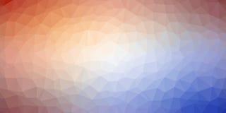 Geometryczny czerwony błękitny trójgraniasty tekstury tło ilustracji
