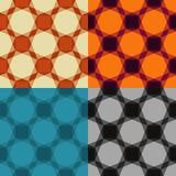 geometryczny deseniowy bezszwowy Obraz Stock