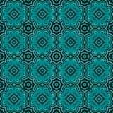 geometryczny deseniowy bezszwowy Zdjęcie Royalty Free