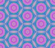 geometryczny deseniowy bezszwowy Zdjęcia Stock
