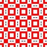 geometryczny deseniowy bezszwowy Zdjęcia Royalty Free