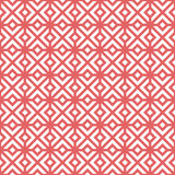 geometryczny deseniowy bezszwowy wektor Zdjęcia Royalty Free