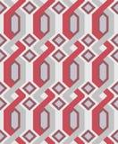 geometryczny deseniowy bezszwowy wektor Obraz Royalty Free