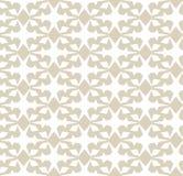 geometryczny deseniowy bezszwowy wektor Elegancki złota i bielu ornamentu tło ilustracja wektor