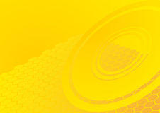 geometryczny deseniowy kolor żółty Fotografia Stock
