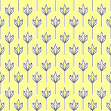 geometryczny deseniowy kolor żółty Zdjęcie Royalty Free