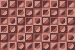 Geometryczny deseniowy tło Zdjęcia Stock