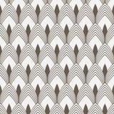 Geometryczny deseniowy wektor Geometryczny prosty mody tkaniny druk Wektorowa wielostrzałowa dachówkowa tekstura Pokrywać się okr royalty ilustracja