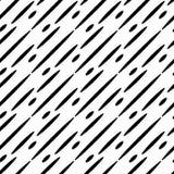 Geometryczny dynamiczny czarny i biały tło Zdjęcie Royalty Free