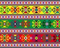 Geometryczny dywanik Obraz Royalty Free