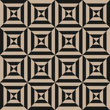 Geometryczny element, projekta szablon z pasiastą czarną przekątną pochylającą wykłada obraz stock