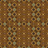 Geometryczny etniczny bezszwowy wzór Obraz Royalty Free