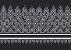Geometryczny etniczny wzór Zdjęcia Royalty Free