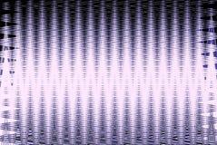 Geometryczny fiołka i bielu wzór z liniami Płynnie powtarzalny Fotografia Royalty Free