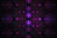 Geometryczny fractal kształt może ilustrować rojenie wyobraźni psychodelicznych astronautycznych sen wybuchu bomby atomowej częst Zdjęcia Royalty Free