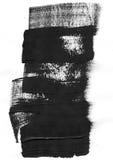 Geometryczny graffiti abstrakta tło Tapeta z nafcianym akwarela skutkiem Czarna akrylowej farby uderzenia tekstura dalej Zdjęcia Stock