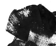 Geometryczny graffiti abstrakta tło Tapeta z nafcianym akwarela skutkiem Czarna akrylowej farby uderzenia tekstura dalej Zdjęcia Royalty Free