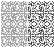 geometryczny islamski wzór fotografia royalty free