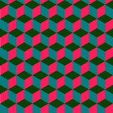 Geometryczny jaskrawy bezszwowy wzór Zdjęcie Stock