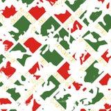 Geometryczny kamuflaż tekstury wzór Obraz Stock
