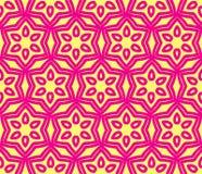 Geometryczny kolorowy wzór Royalty Ilustracja