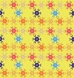 Geometryczny kolorowy wzór Ilustracji