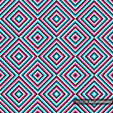 Geometryczny kolorowy wzór - bezszwowy tło royalty ilustracja