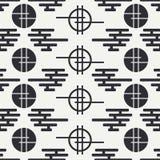 Geometryczny krajowy bezszwowy azjata wzór wally napojów ilustraci papieru retro tematu wektoru opakowanie scrapbook również zwró ilustracji