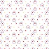 Geometryczny kształt na białym tle Obraz Royalty Free