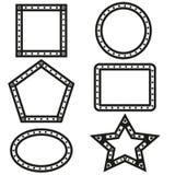 Geometryczny kształta projekta wektor Zdjęcia Royalty Free