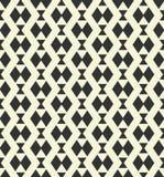 Geometryczny monochromu wzór Fotografia Royalty Free