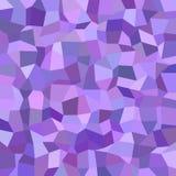 Geometryczny nieregularny wielobok mozaiki wzoru tło - poligonalna wektorowa ilustracja od prostokątów w purpurowych brzmieniach ilustracja wektor