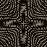 Geometryczny nowożytny wzór Obraz Royalty Free