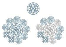 Geometryczny ornament Ilustracji