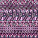 Geometryczny ornamentacyjny bezszwowy wzór dla tło, tkaniny i dekoraci, ilustracji