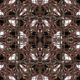 Geometryczny Ozdobny Abstrakcjonistyczny Grunge wzór royalty ilustracja