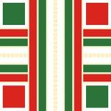 Geometryczny Ozdobny abstrakta wzór Obrazy Royalty Free