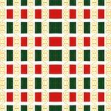 Geometryczny Ozdobny abstrakta wzór Zdjęcie Royalty Free