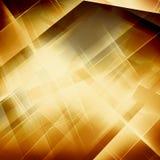 Geometryczny Pasiasty ornament nowożytna elegancka tekstura Złociści liniowi warkocze Modna złocista błyskotliwości tekstura ilustracji