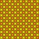 Geometryczny piksla wzór. Rocznik. Bezszwowy Obraz Royalty Free